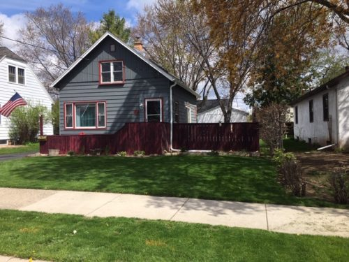 1014 W. Brewster Street – smaller home with character/fenced in backyard