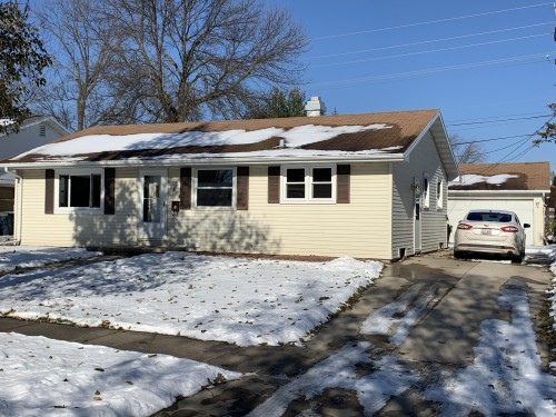 814 W. Lindbergh St Appleton: Nice! 3BR Ranch for sale